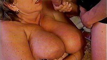 Brunette mom goes over girl Crazy Sally Kennedy, may she love