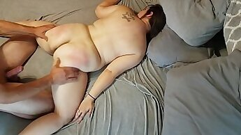 Chubby gou - covered with cum