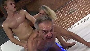 cuckold wife fucking a CD slut with my big massive dicks