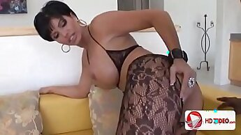 milf that loves her toys is getting fucked on the bed