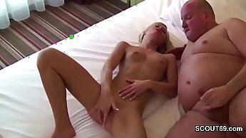 Betty Doi German Teen Seduced into Suck cock