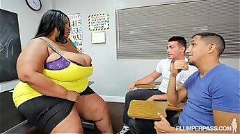 Big tit teacher from FBLC chubby black on straight boys