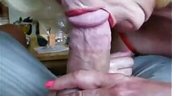 Blondes enjoy a white cock in closeup