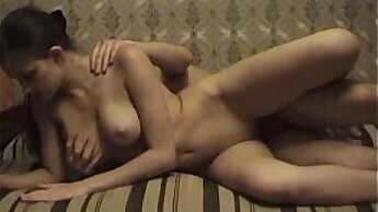 asian young couple home video