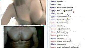 Candice Fucks Two Guys at Home - Get Fleshlight on Cam: www.NaughtyCamsex.tv