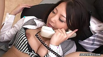 Slutty Asian Girl Po And Ally And Olly Have A Threesome