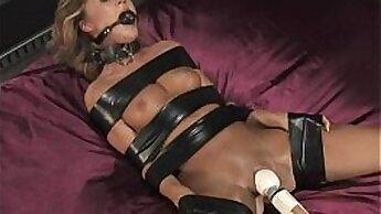 Blindflugced girl gets anal slave