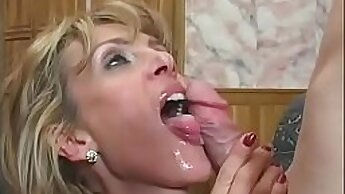 Curly librarian Kendra Miller hot fuck and cumshow