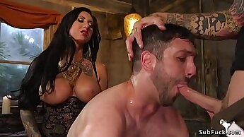 Amelias mistress girl bondage and real gangbang xxx This is our most