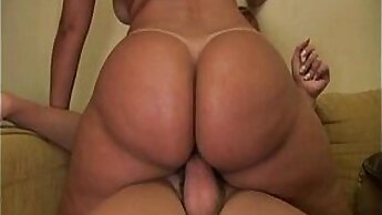 Big breasted shemale in lingerie screwed by hard dick