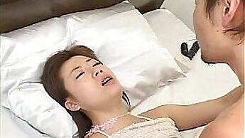 Japanese slut enjoying a holy hell favorite cock