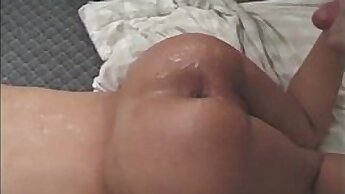 Crazy Hot Latina tranny bareback fucking