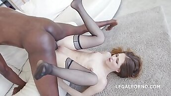 Anal gaping a slut herself