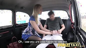 Asian Milf Fucks Her Snatch On Fake Taxi Cab