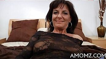 Chubby mature has sex with another