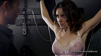 hot in suit gets plowed by her stud
