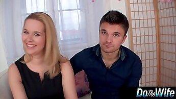 Blonde Wife Destoys Her Husband