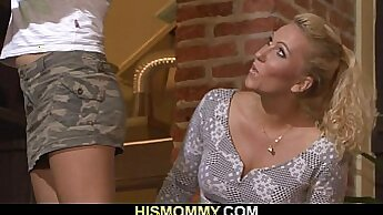 companions daughter seduced and sex with her mom crony xxx Lesbia