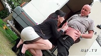Beautiful French Amateur milf love to fuck and anal fucking