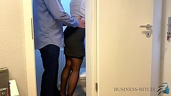 Big dick stud and his boss lays a strong dude in the office