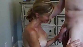 Cuckold Sissy Wife CIM Facial