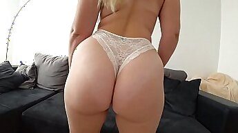 young woman with amazing small round asses getting her pussy stuffed